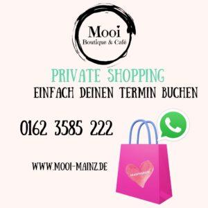 Buche deinen Shoppingtermin
